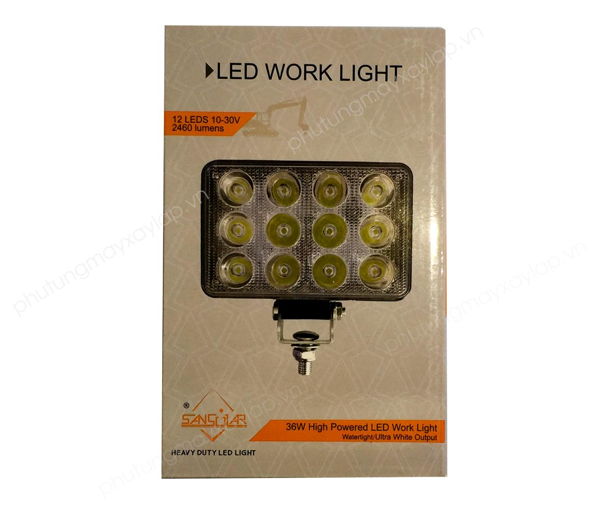 Đèn vuông LED 12 bóng